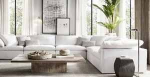100% Authentic CLOUD Modular Sectional Sofa Couch - Only $975 Per Piece - Originally $2,895 Per Piece - Restoration Hardware RH for Sale in Los Angeles, CA