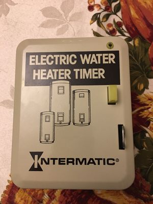 Intermatic Electric Water Heater Timer for Sale in Goldsboro, PA