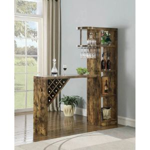 Natural And Oak Wood Finish Bar Table $319.00 on sale! FREE DELIVERY for Sale in Chino, CA