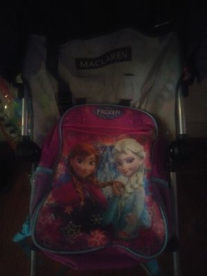 MacLaren Baby stroller( with little girl backpack included) for Sale in Philadelphia, PA