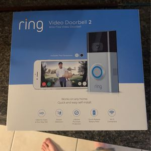 Ring 2 Video Doorbell Unused for Sale in Gainesville, FL