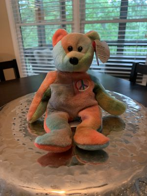 Rare Peace Beanie Baby for Sale in Roswell, GA