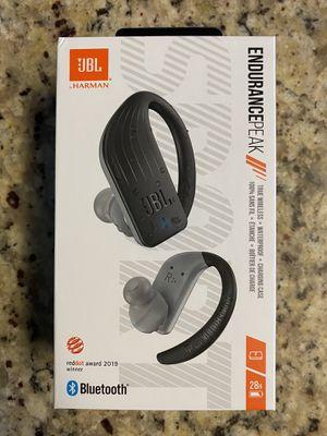 JBL Endurance Peak Bluetooth/Wireless Earbuds for Sale in Ontario, CA