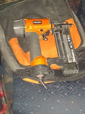 Rigid nail gun and awp hp leather tool pouch for Sale in Dallas, TX
