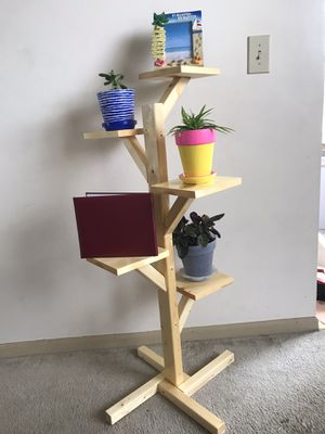 Handmade wooden plant/succulent/picture/candle stand/shelf for Sale in Columbus, OH