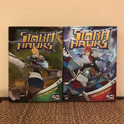 Storm Hawks Set Of 2 DVD Tales From The Atoms& Hawks Rise Again 2008 for Sale in Clermont,  FL