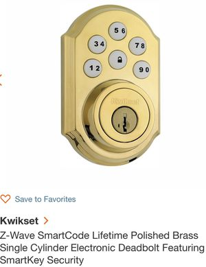 Kwikset Z wave keyless door locks for Sale in Chicago, IL