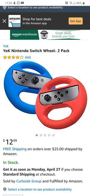 Nintendo switch Yok wheels for Sale in Norwalk, CA