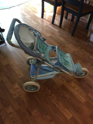 American Girl Bitty Baby double stroller for Sale in Uxbridge, MA