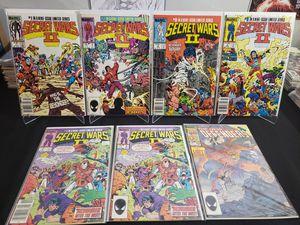 Secret Wars II Comic Lot for Sale in Marietta, GA