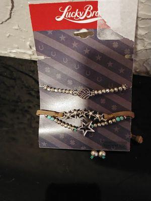 Set of 3 lucky brand bracelets for Sale in Tulsa, OK