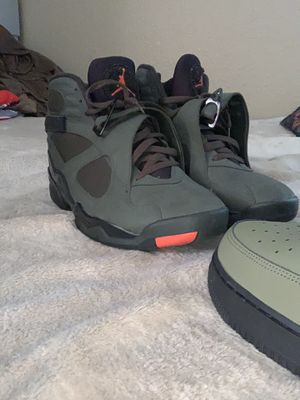 BUNDLE DEAL ALL FOR 275$$ 5 shoes and bomber for Sale in Fontana, CA