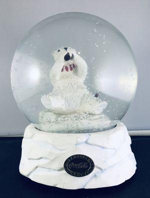 Vintage Coca Cola Snowglobe Heritage Collection Polar Bear 1994 Music Box for Sale in Skokie, IL