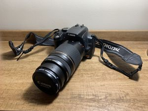 Canon Rebel XT with Canon Zoom Lens and accessories for Sale in San Diego, CA