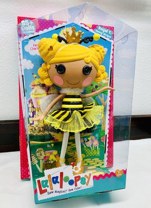 """Full Size 13"""" Lalaloopsy Royal T Honey Stripe Doll (New) for Sale in California City, CA"""