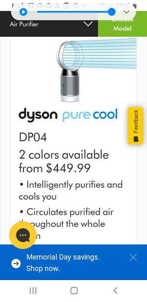 Dyson air purifier for Sale in Henderson, NV