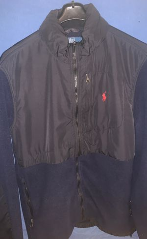 Men's Polo Ralph Lauren Blue/Black Vintage Jacket for Sale in Washington, DC