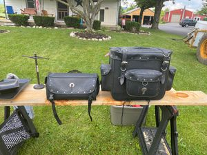 Leather motorcycle bags for Sale in Bethel, PA