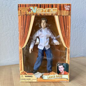 "Living Toyz Nsync Lance Bass Collectable Marionette 10"" Figure Doll Toy for Sale in Elizabethtown, PA"