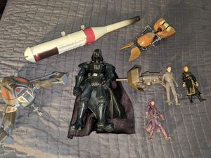 Star Wars Lot Action Figures Vehicles Wespons for Sale in Beaverton, OR