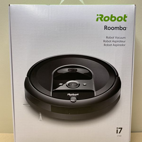 New! iRobot Roomba i7 (7150) Robot Vacuum- Wi-Fi Connected, Smart Mapping, Works with Alexa, Ideal for Pet Hair, Works With Clean Base