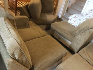 Sectional Sofa and 2 Twin Bed Frames for Sale for sale  Lodi, NJ