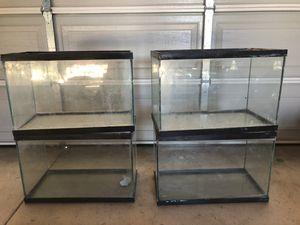 20 gallon fish tanks for Sale in Bell Gardens, CA