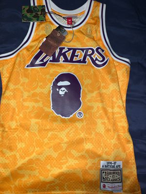 Bape X Lakers for Sale in Los Angeles, CA