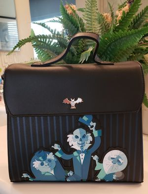 Black Friday Blowout! LOUNGEFLY DISNEY THE HAUNTED MANSION HITCHHIKING GHOSTS SATCHEL BAG for Sale in Pomona, CA