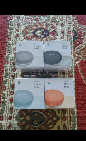 Google home mini brand new for Sale in Fort Smith, AR