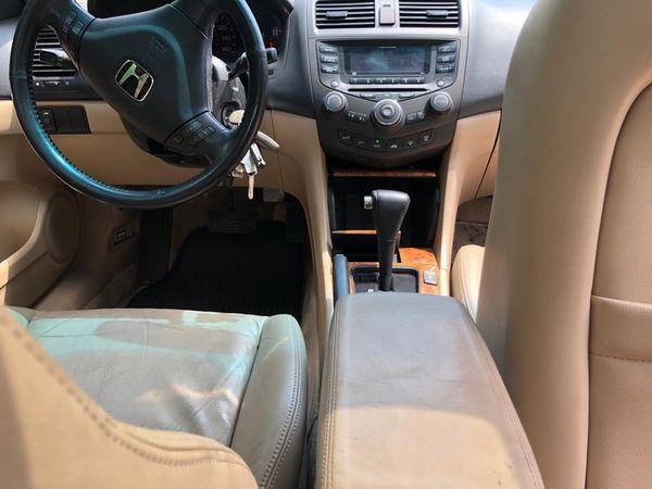 2005 Honda accord coupe