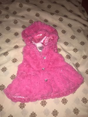 Baby's Faux Fur Vest, sz 12m for Sale in Greenville, MS