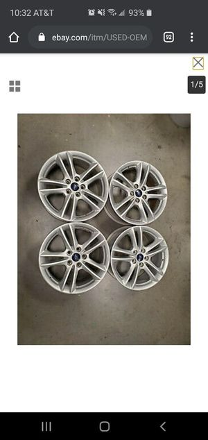 Ford Fusion Factory Rims Like Brand New for Sale in Lakeland, FL