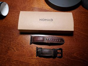 Nomad Leather 42 mm Apple Watch Band Strap for Sale in Longview, TX