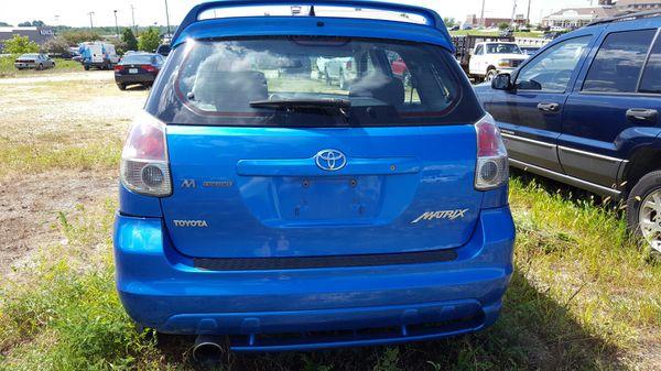Toyota Matrix M theory 2007