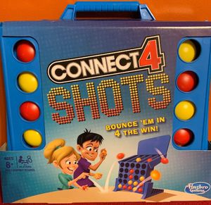 Connect 4 Shots Game - Travel Light New Classic Original Grid Kids Toys Games for Sale in Hart, MI