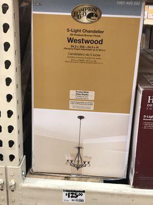 Westwood 5 light chandelier for Sale in Woodville, CA