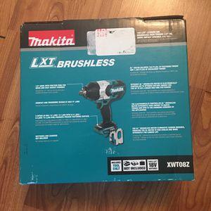 MAKITA 18V LTX LITHIUM-ION BRUSHLESS HIGH TORQUE for Sale in Arlington, VA