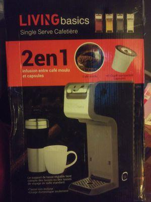 Coffee maker 2-1 for Sale in Detroit, MI
