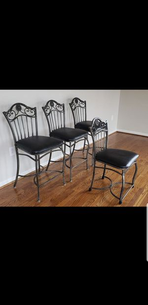 Counter Height ( 3) and one Desk chair for Sale in Mooresville, NC