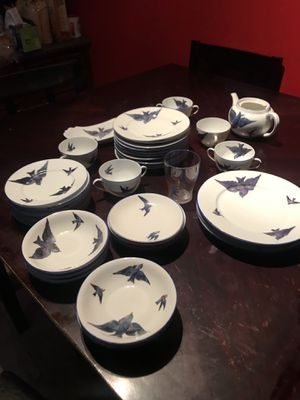 Antique Australia Bird Blue China for Sale in Holly Springs, NC