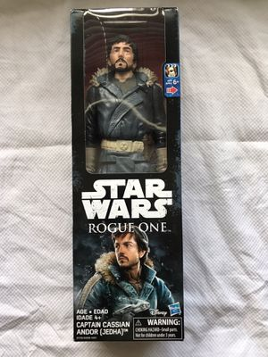 Star Wars Rogue One Captain Cassian Andor Jedha Action Figure for Sale in Apex, NC
