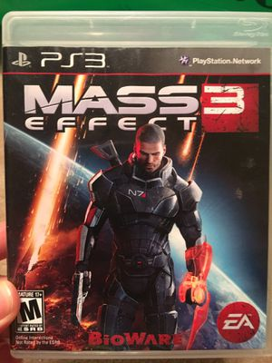Mass Effect 3 (PS3) for Sale in Fairfax, VA