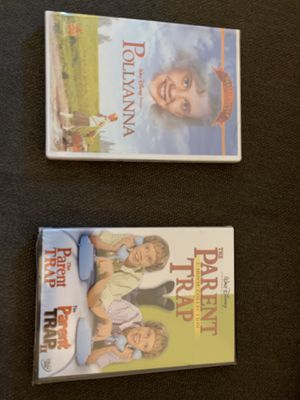 Parent trap and Pollyanna movie sealed new for Sale in Rancho Cucamonga, CA