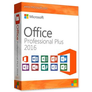 Microsoft office pro plus 2016 for Sale in MD, US