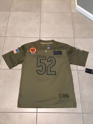 Men's Chicago Bears Khalil Mack Camo 2019 Salute To Service Limited Jersey for Sale in Northbrook, IL