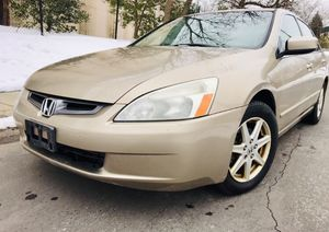 $3900 FIRM ^^ 2003 Honda Accord ^^ Leather ^^ No check engine Light for Sale in Hyattsville, MD