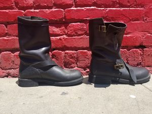Leather Triumph motorcycle boots for Sale in Los Angeles, CA