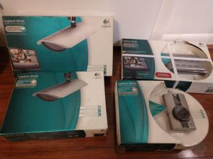 Video Security System Logitech WiLife. PowerLine technology. 4 cameras for Sale in Fort Lauderdale, FL