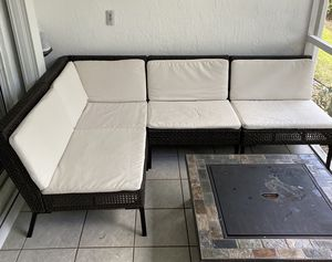 PATIO FURNITURE SECTIONAL SEAT SET for Sale in Boca Raton, FL
